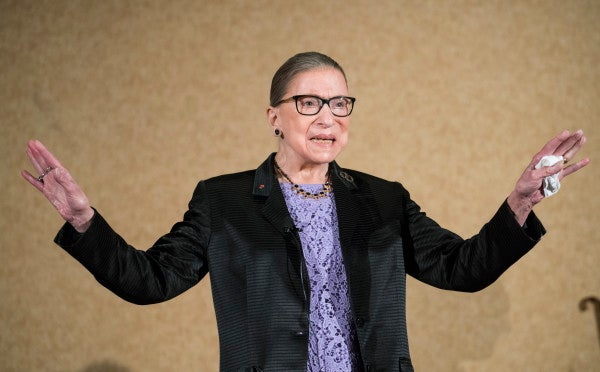 How Ruth Bader Ginsburg helped end the military's policy of forced abortion