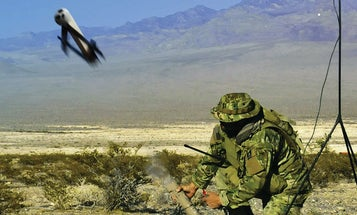 The Marine Corps is on the hunt for a kamikaze drone swarm to back up grunts on the battlefield