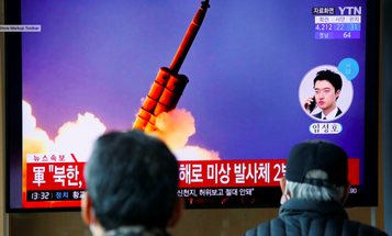North Korea fires two short-range missiles into Sea of Japan