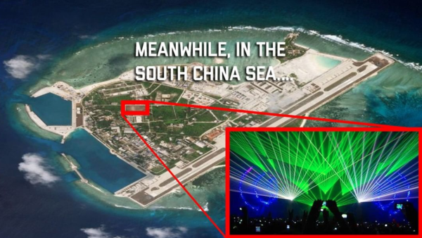US Navy to China: 'You don't want to play laser tag with us'