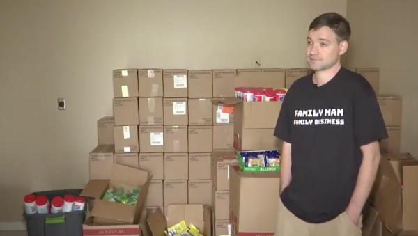 This Air Force vet stockpiled 17,700 bottles of hand sanitizer. Now he's under investigation