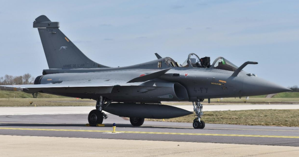 A technical glitch saved a French fighter jet after a civilian passenger freaked out and ejected