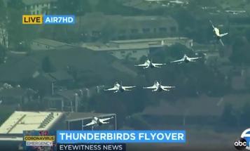 U.S. Air Force Thunderbirds Breakaway