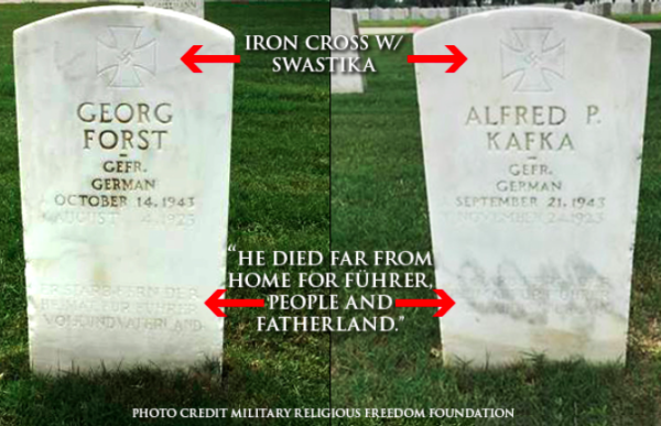 VA secretary reverses course on removing Nazi headstones from veteran cemeteries