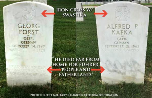 VA secretary says removing Nazi headstones from veterans cemeteries would 'erase' history
