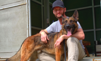 'He's my dude' — Marine vet fights to stay with Abel, his loyal bomb-sniffing dog