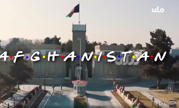 Here's the 'Friends'-themed Afghanistan video we never knew we needed