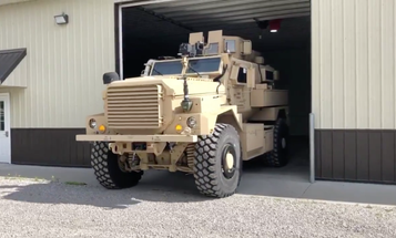 A West Virginia town of 8,400 people just picked up an MRAP for some reason