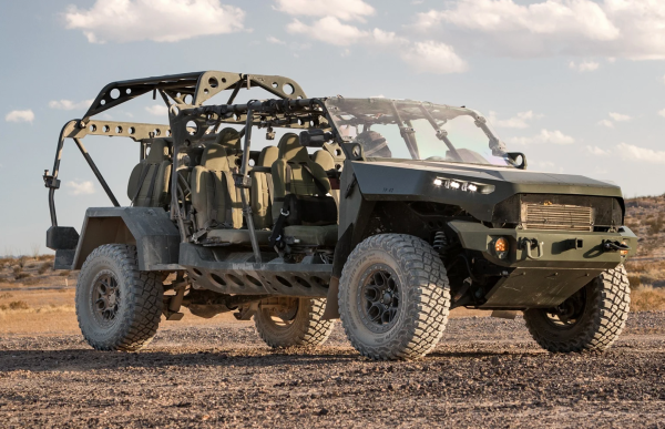 The Army's new infantry assault buggy will be based on the Chevy Colorado
