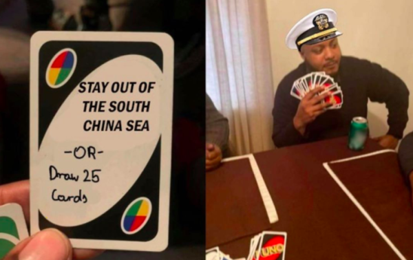 Navy says it's 'not intimidated' by China's missiles as Beijing bristles over US aircraft carriers in South China Sea