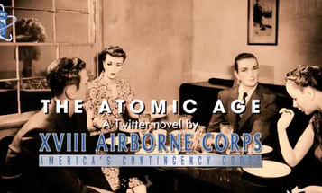 The 18th Airborne Corps is releasing previously classified documents about the Army's Atomic Age on Twitter