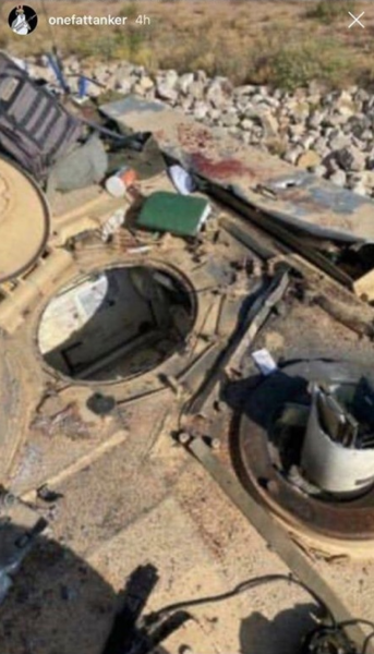 An M1 Abrams accidentally fired on a fellow tank at Fort Bliss