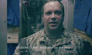 Sailors explain Navy slang
