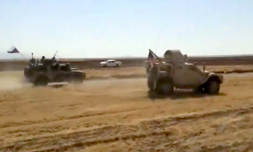 Russia claims convoy rammed US military in Syria in self-defense