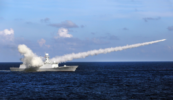 China fires 'carrier killer' missile into South China Sea in message to US