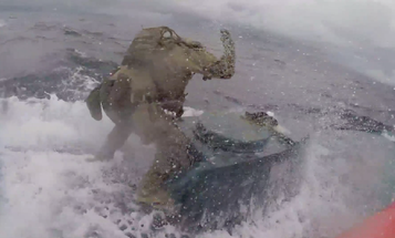 Coast Guard Cutter Munro crew interdicts suspected drug smuggling vessel