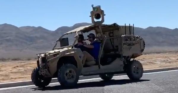 The Air Force successfully tested a mobile laser weapon to protect convoys from enemy drones