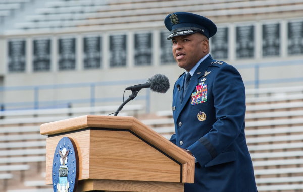 General becomes first Black superintendent of the Air Force Academy