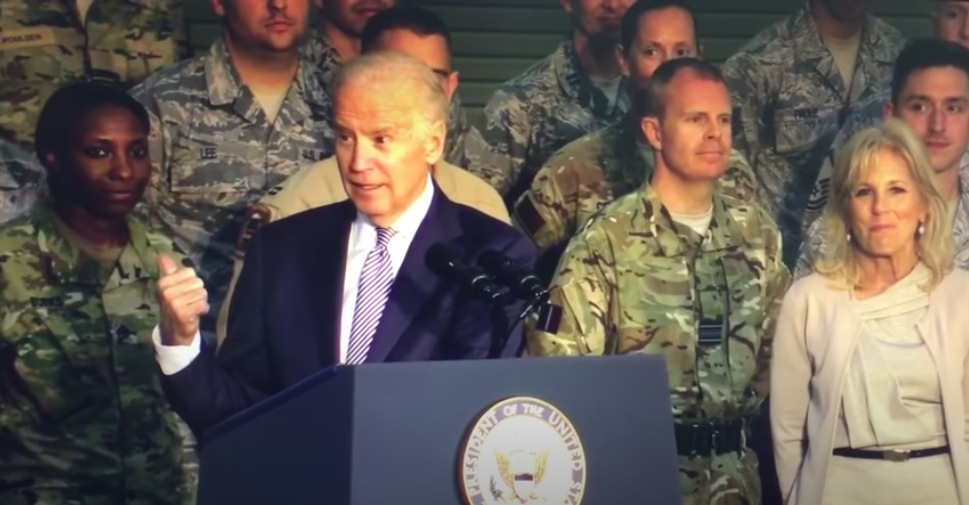 Newly resurfaced video shows Biden jokingly calling troops 'stupid bastards'
