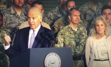Newly resurfaced video shows Biden jokingly calling troops 'stupid bastards'