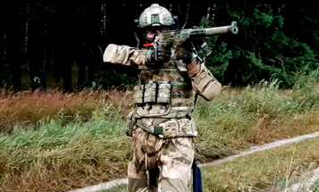 Russia just released footage of a brand new combat exoskeleton in action