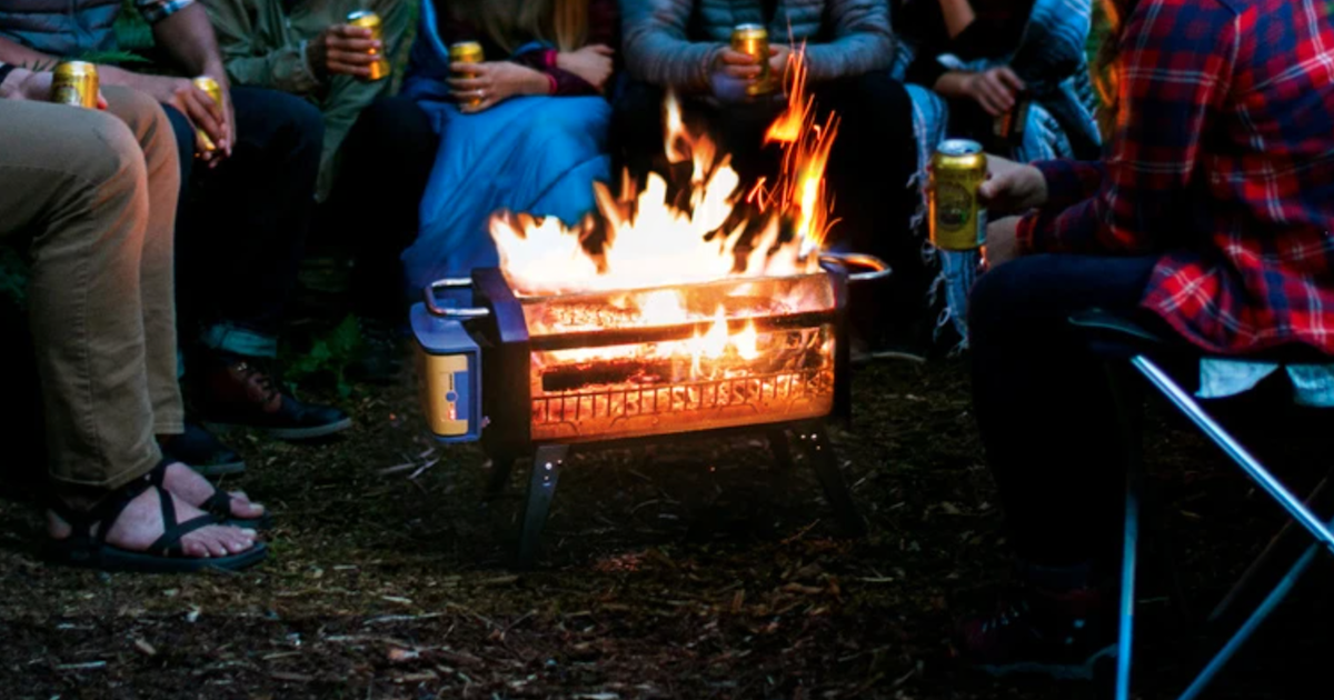 Grill and chill with this game-changing smokeless fire pit