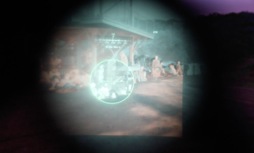 The view through the Army's new night vision goggles is next f–king level