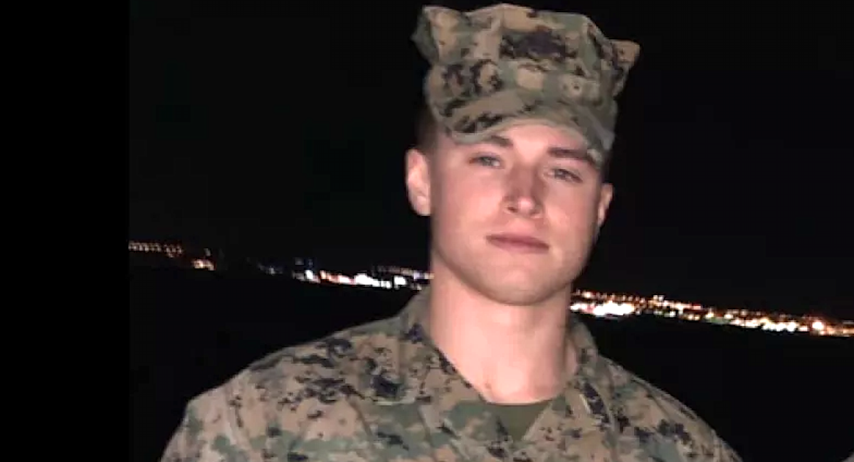 Ex-Marine exposed on neo-Nazi forum charged with allegedly manufacturing illegal guns while still on active duty