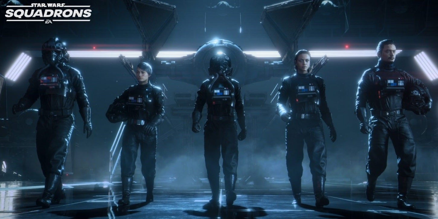 The trailer for 'Star Wars: Squadrons' just dropped and I can't wait to hop into a Tie Fighter and destroy Rebel scum