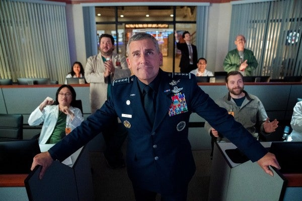 Steve Carell's 'Space Force' parody actually got military awards right