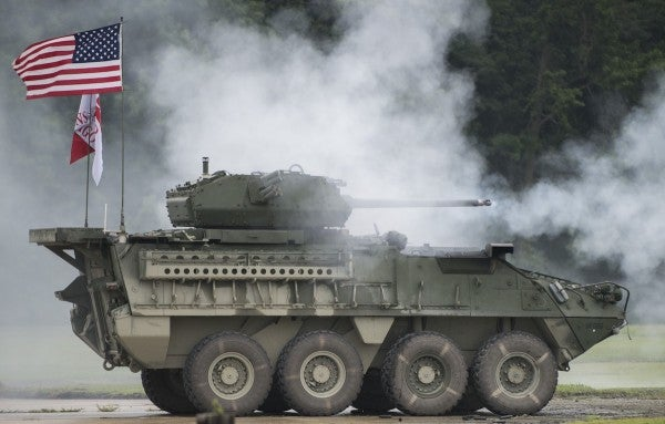 The Army is eyeing 30mm autocannons for even more of its Stryker fleet