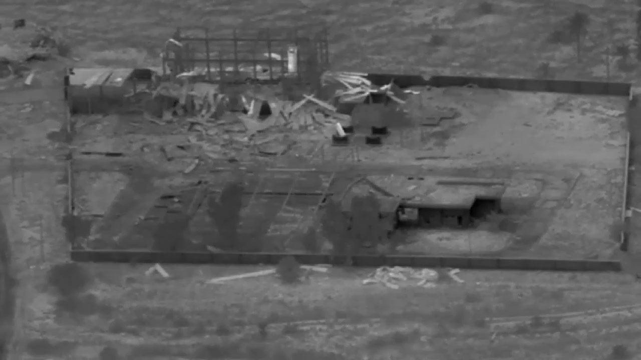 Taji Response, Defensive Strikes on Kata'ib Hizbollah