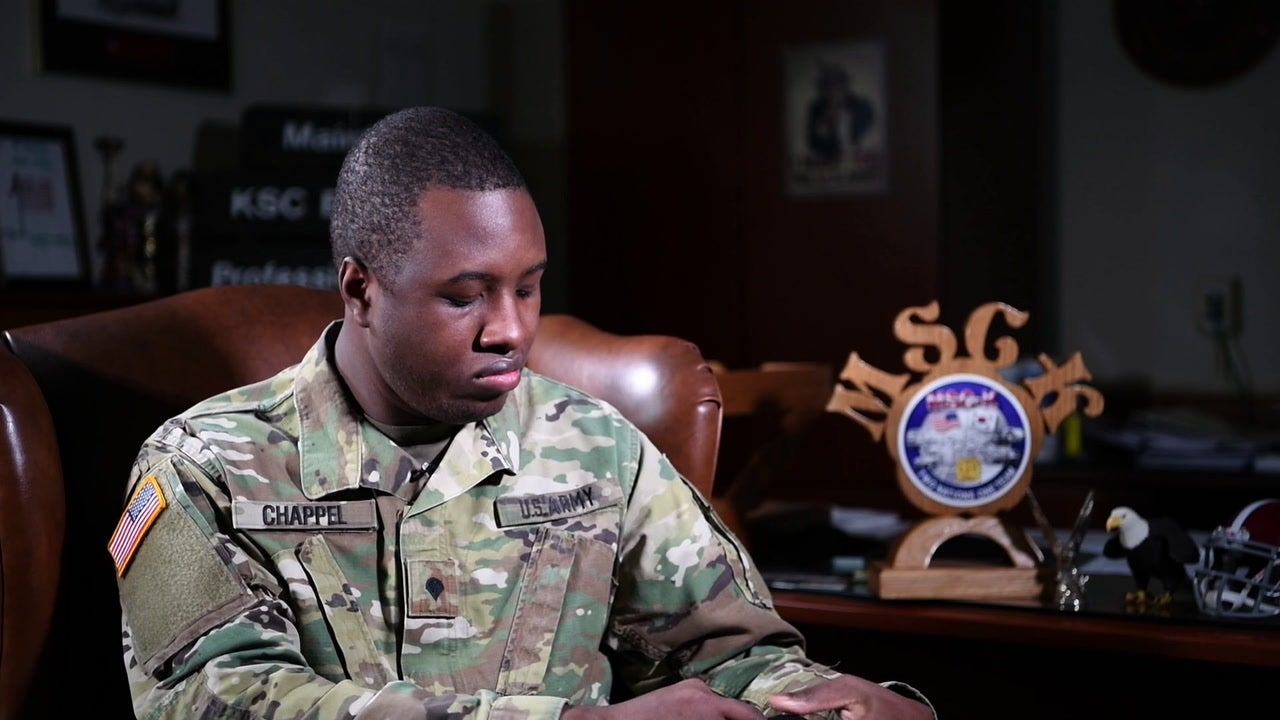 The first known US service member diagnosed with COVID-19 tells his story