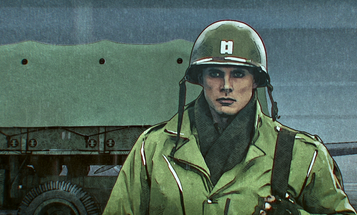 Netflix's new WWII miniseries looks like 'Band of Brothers' meets 'A Scanner Darkly'