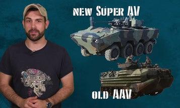 The new Marine Corps amphibious vehicle