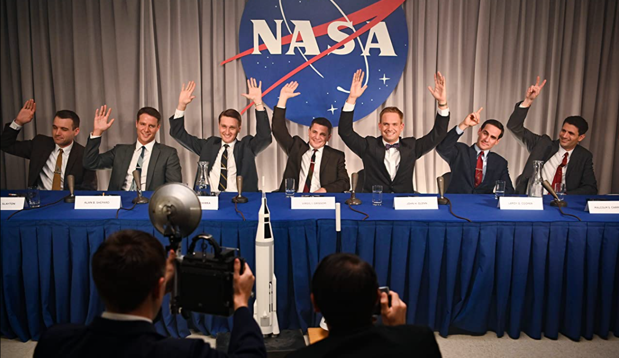 The legendary military test pilots who became America's first astronauts are getting a TV series with 'The Right Stuff'