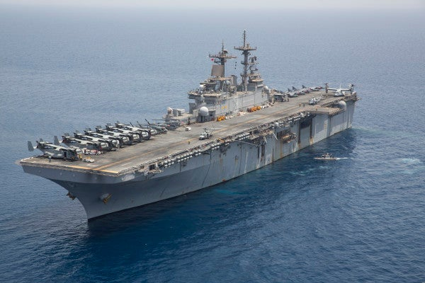 Two other Navy ships caught fire just days after the USS Bonhomme Richard inferno
