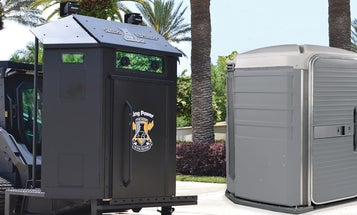 A Florida police department is buying a vehicle that looks like an armored port-a-john