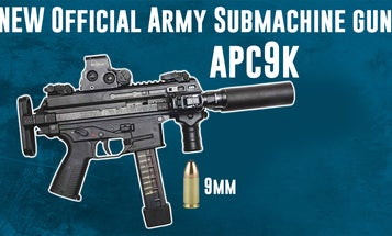 The APC9K is the first new official army submachine gun since World War II