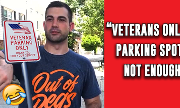 Veterans Only Parking Doesn't Go Far Enough