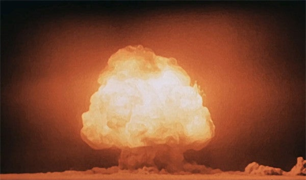 75 years ago today, the Trinity atomic bomb test ushered in the era of nuclear warfare