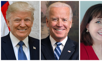 Here's where Trump, Biden, and Jorgensen stand on the issues most important to the US military