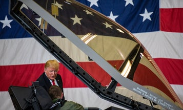 Mother's Day message from Trump: I'll be in meetings but F-35 is 'best in the world'