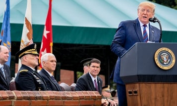 Trumpaccuses Pentagon leaders of wanting to 'fight wars' tomake defense companies rich
