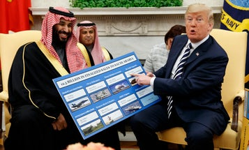 Trump fired top State Department watchdog over probe into Saudi arms sales, lawmakers say