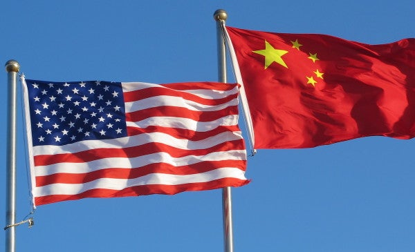 The US and China are locked in a war of words over COVID-19