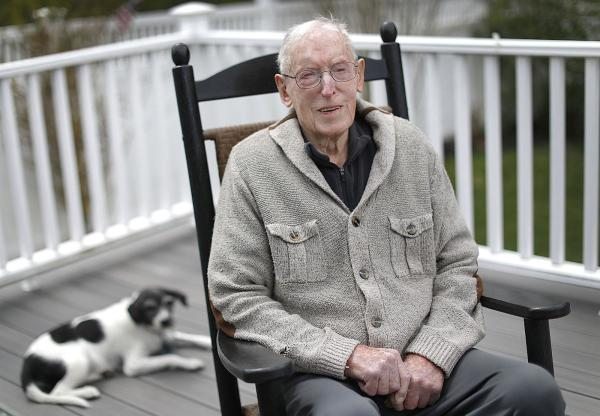 100-year-old WWII vet beats COVID-19 just like he helped beat the Nazis