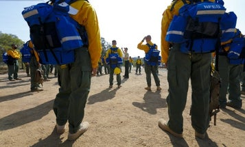 250 Camp Pendleton Marines, sailors to deploy to Creek fire