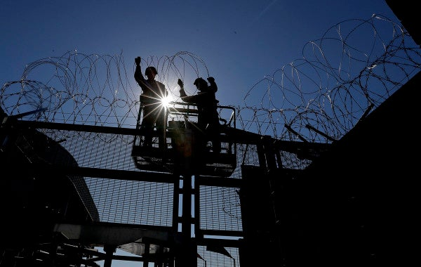 US troops are still at the southern border, despite waning migration and COVID-19 restrictions