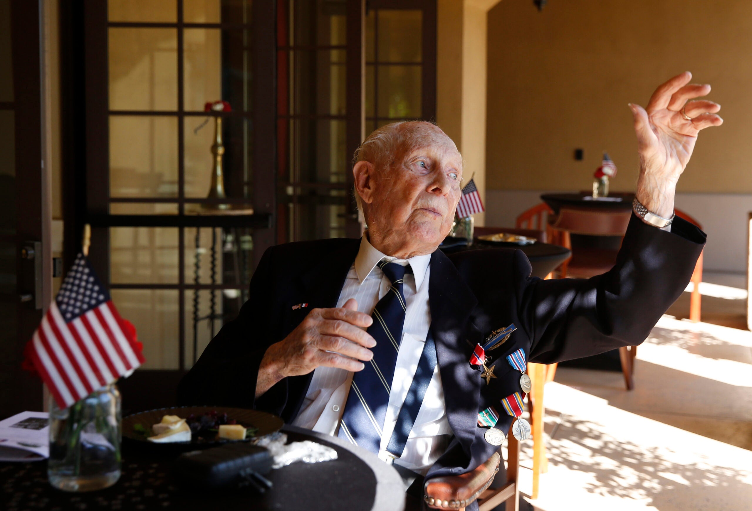 This WWII soldier survived 5 days behind enemy lines on nothing but chocolate bars